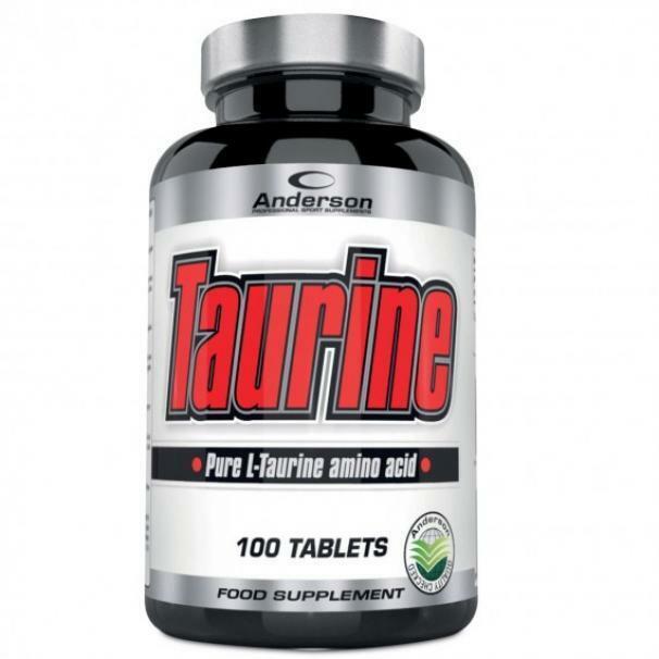 anderson research taurine - integratore alimentare a base di taurina - 100 compresse