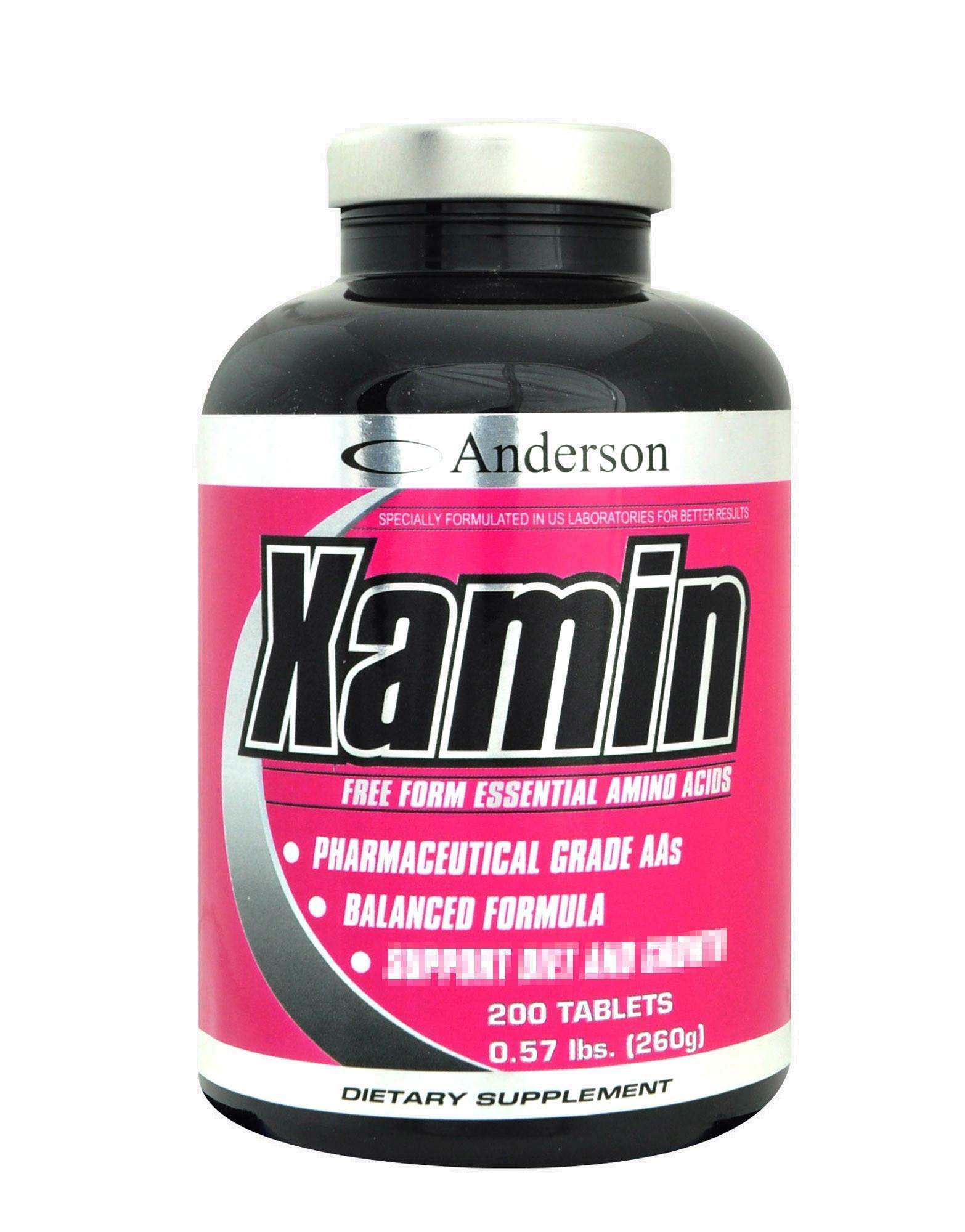 anderson research xamin - integratore di aminoacidi essenziali - 200 compresse