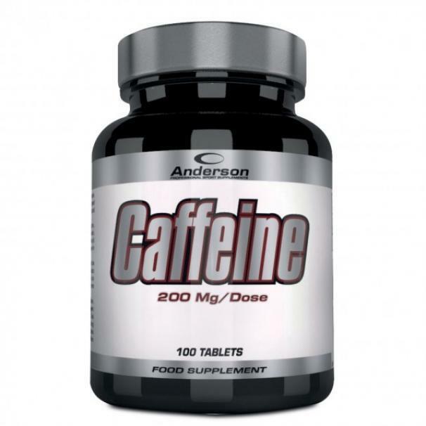 anderson research caffeine - integratore alimentare a base di caffeina - 100 compresse