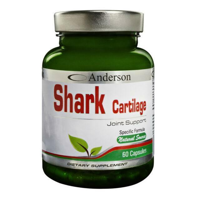 anderson research shark - cartilage di squalo - 60 capsule