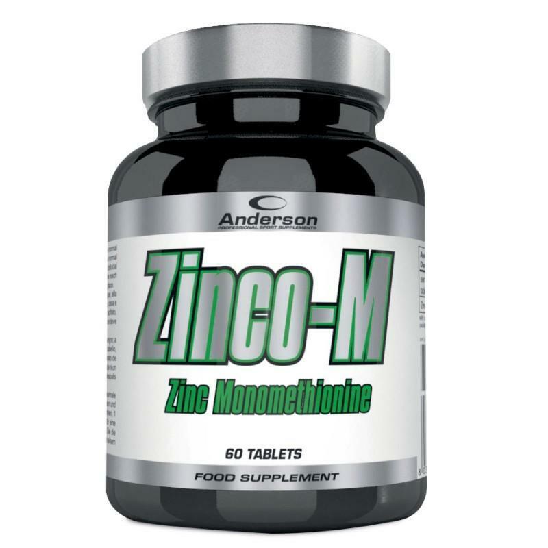 anderson research zinco-m - integratore di zinco - 60 capsule