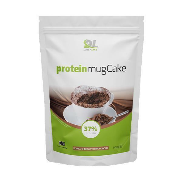 daily life daily life - protein mug cake - miscela a base di proteine e farina di avena  gusto doppio cioccolato - 500g