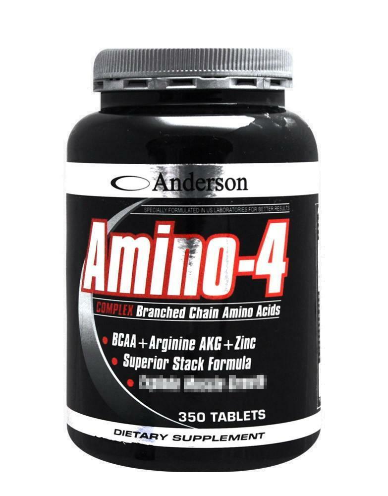 anderson research amino-4 complex - integratore di aminoacidi - 200 cpr
