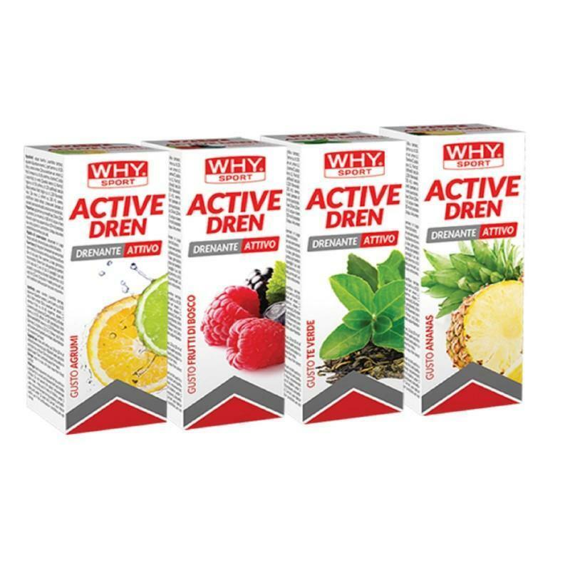 biovita group why sport - active dren  - drenante attivo  gusto agrumi  - 500ml