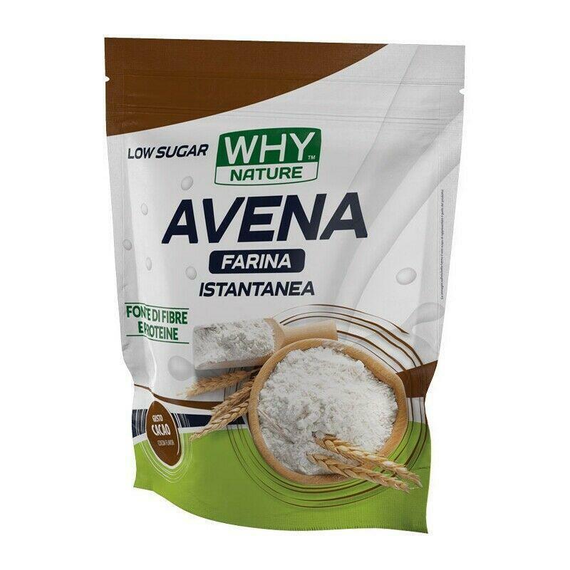 biovita group why nature - farina di avena istantanea senza glutine - gusto fondente - 1kg