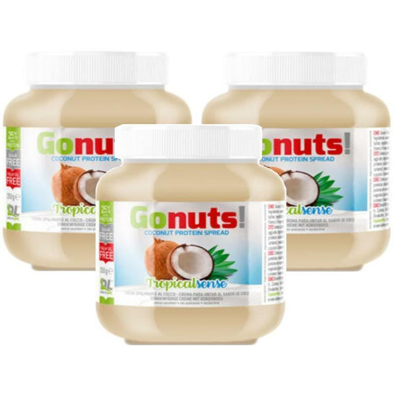 daily life daily life -gonuts! tropicalsense - crema spalmabile al cocco - 350g