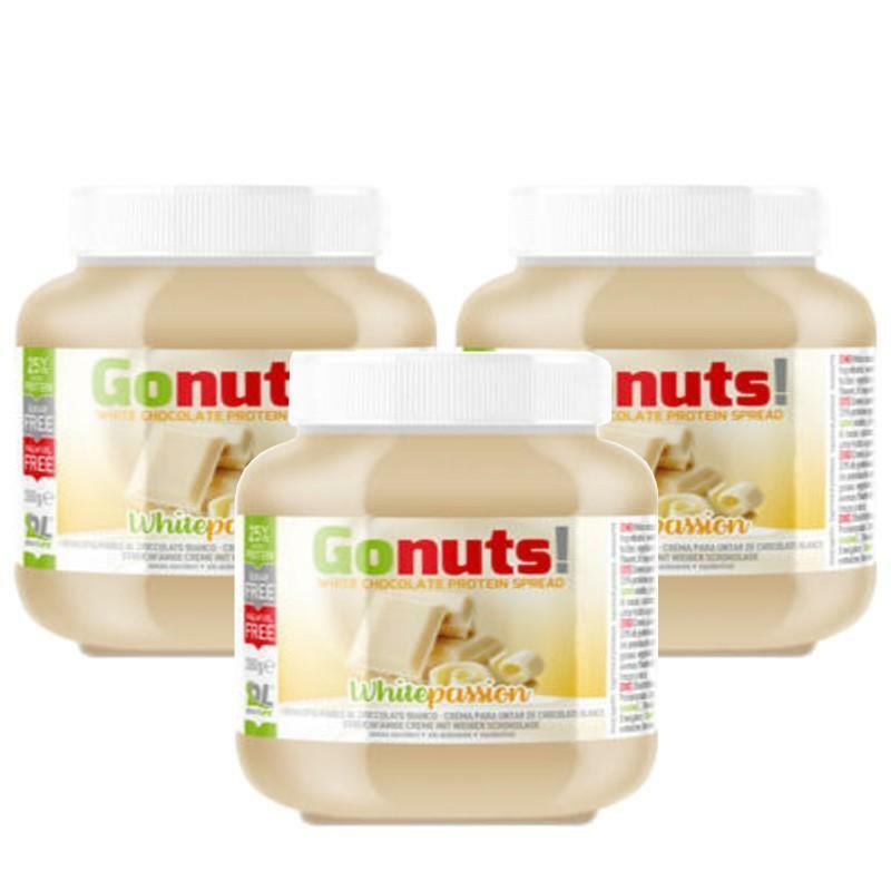daily life daily life - gonuts! white passion - crema spalmabile al cioccolato bianco - 350g