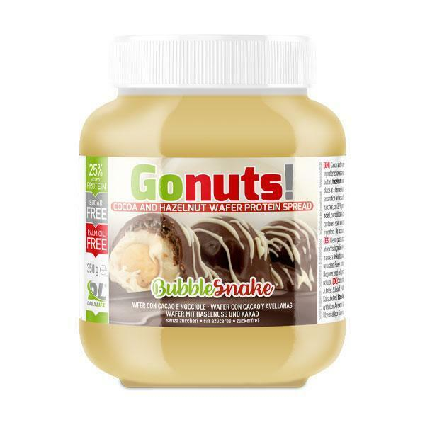 daily life daily life gonuts! bubblesnake - crema spalmabile al wafer con cacao e nocciola - 350g