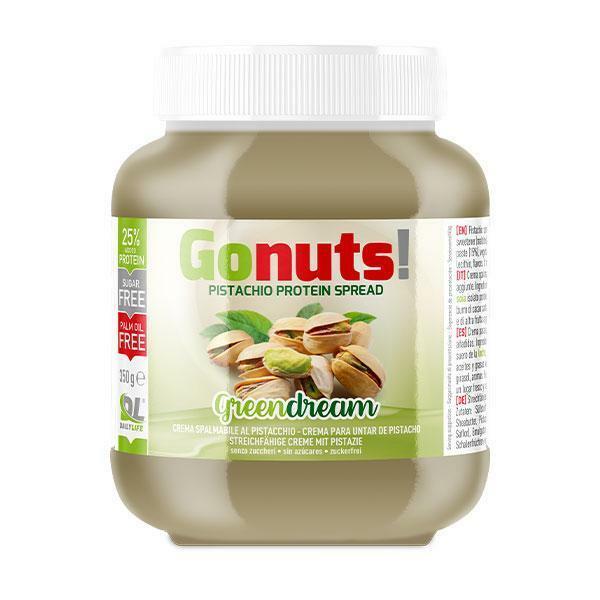 daily life daily life - gonuts! greendream - crema spalmabile al pistacchio - 350g