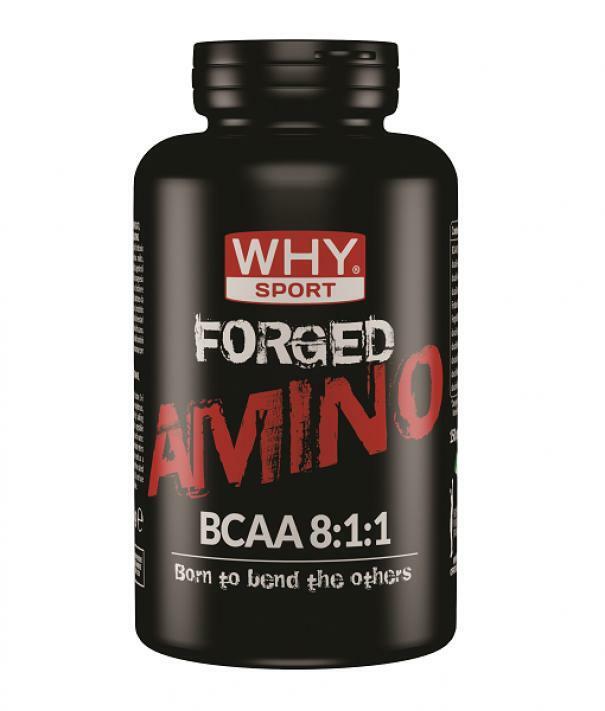 biovita group why sport - forged amino bcaa 8:1:1 - integratore alimentare a base di aminoacidi ramificati bcaa - 150 compresse