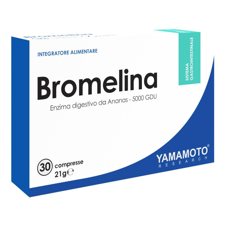 yamamoto research yamamoto - bromelina - 30 cpr