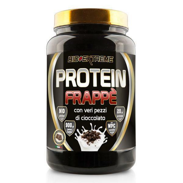 bio extreme bio extreme - protein frappe' - frappe' proteico al gusto cioccolato - 900g