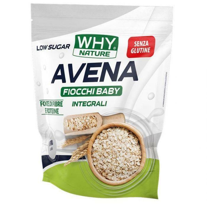 biovita group why nature -  avena fiocchi baby integrali senza glutine gusto neutro - 1kg