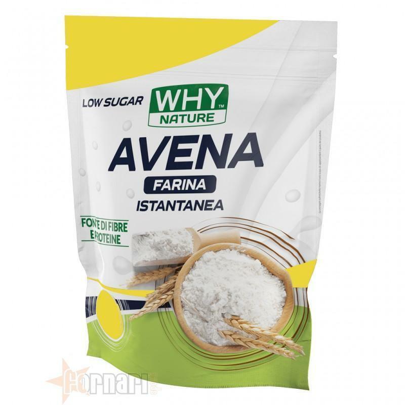 biovita group why nature - farina di avena istantanea senza glutine gusto vaniglia - 1kg