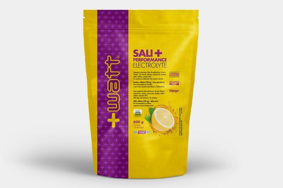 +watt nutrition +watt - sali + performance electrolyte - sali minerali fruttosio e maltodestrine gusto limone - 600g