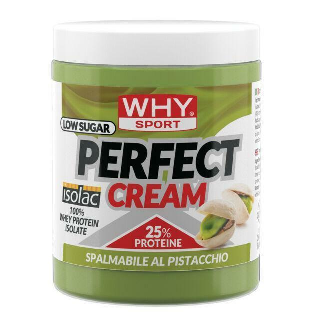 biovita group why sport - perfect cream - crema spalmabile proteica gusto pistacchio - 300g
