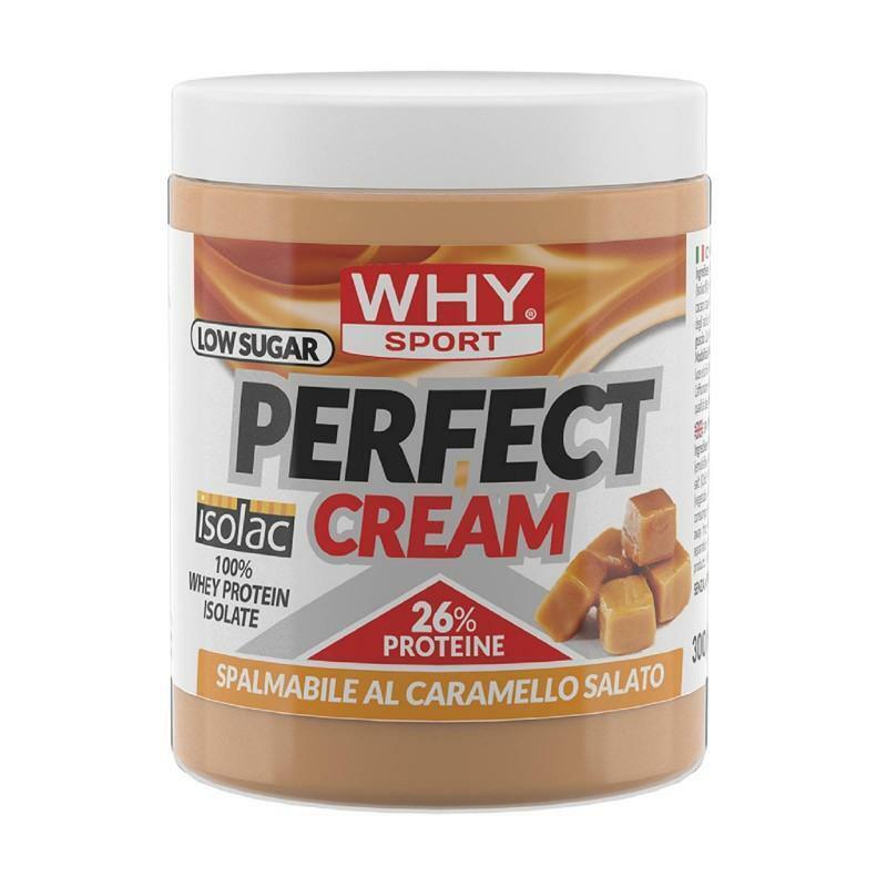 biovita group why sport - perfect cream - crema spalmabile proteica gusto crunchy peanut - 300g
