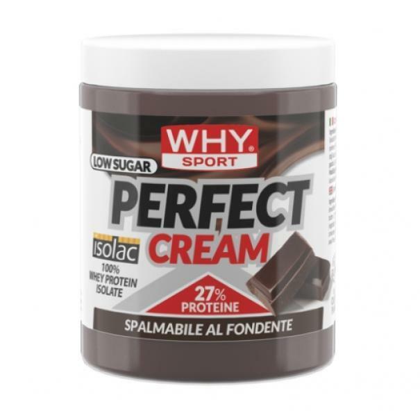 biovita group why sport - perfect cream - crema spalmabile proteica gusto fondente - 300g