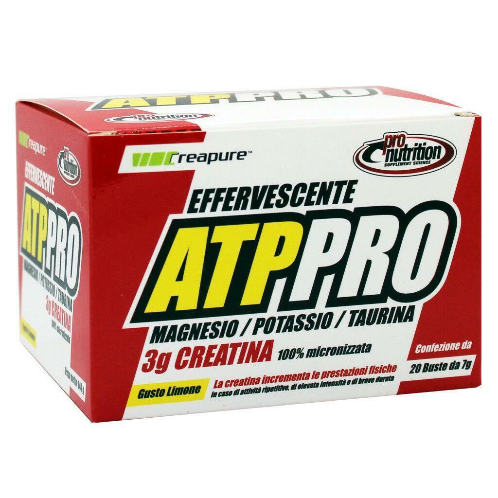 pro nutrition pro nutrition - atppro - integratore energetico effervescente gusto limone - 1 x 20 bustine