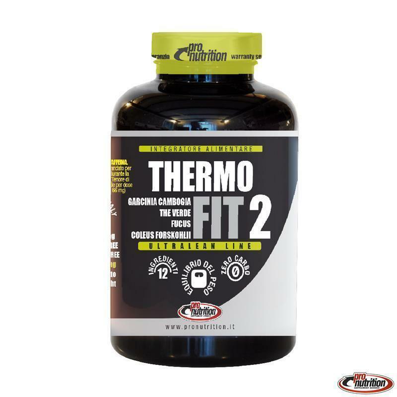 pro nutrition pro nutrition - thermofit 2 - integratore termogenico - 90 capsule