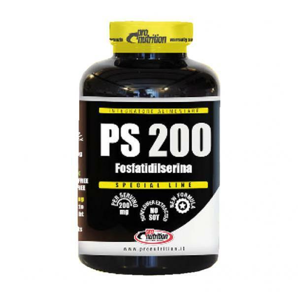 pro nutrition pro nutrition - ps200 - integratore di fosfatidilserina - 60 compresse