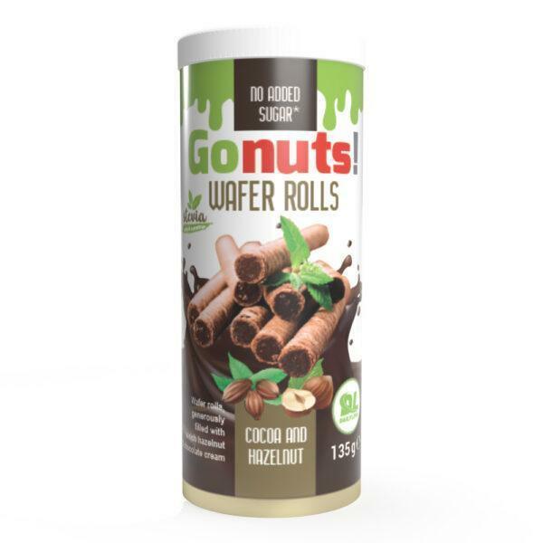 daily life daily life - wafer rolls - bastoncini di wafer proteici senza zuccheri aggiunti - 135g