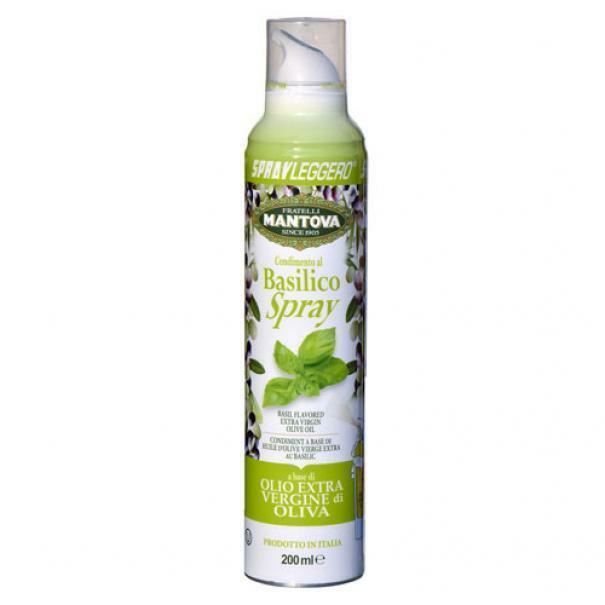 spray lefggero spray leggero - basilico spray in olio extra vergine di oliva - 200 ml