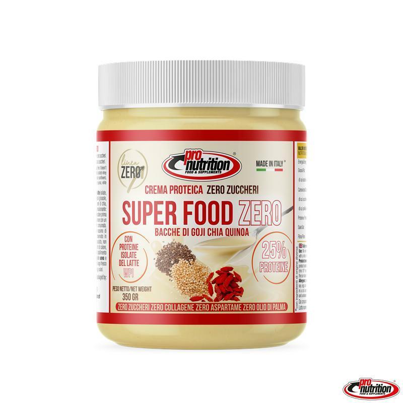 pro nutrition pro nutrition - crema spalmabile gusto super food zero - 350g