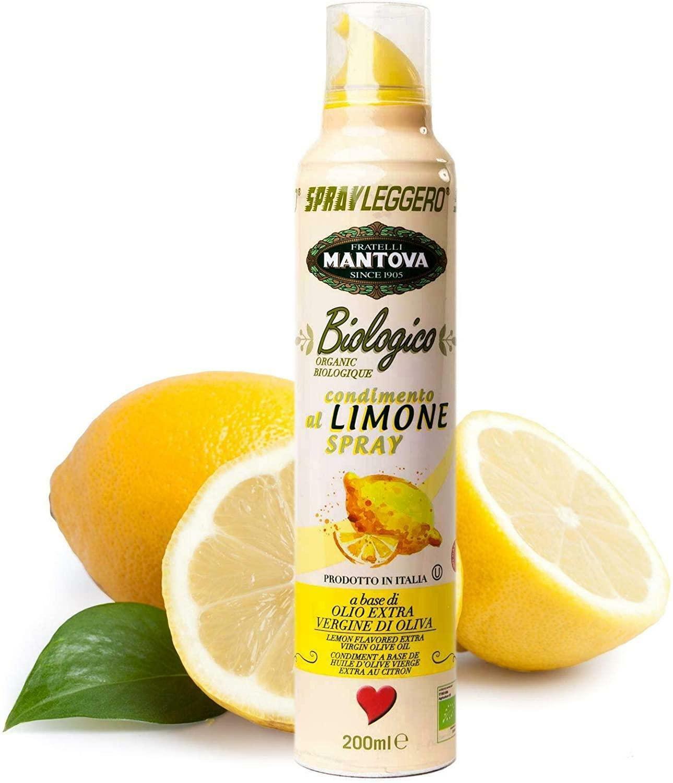 spray leggero spray leggero - limone spray in olio biologico extravergine di oliva - 200ml
