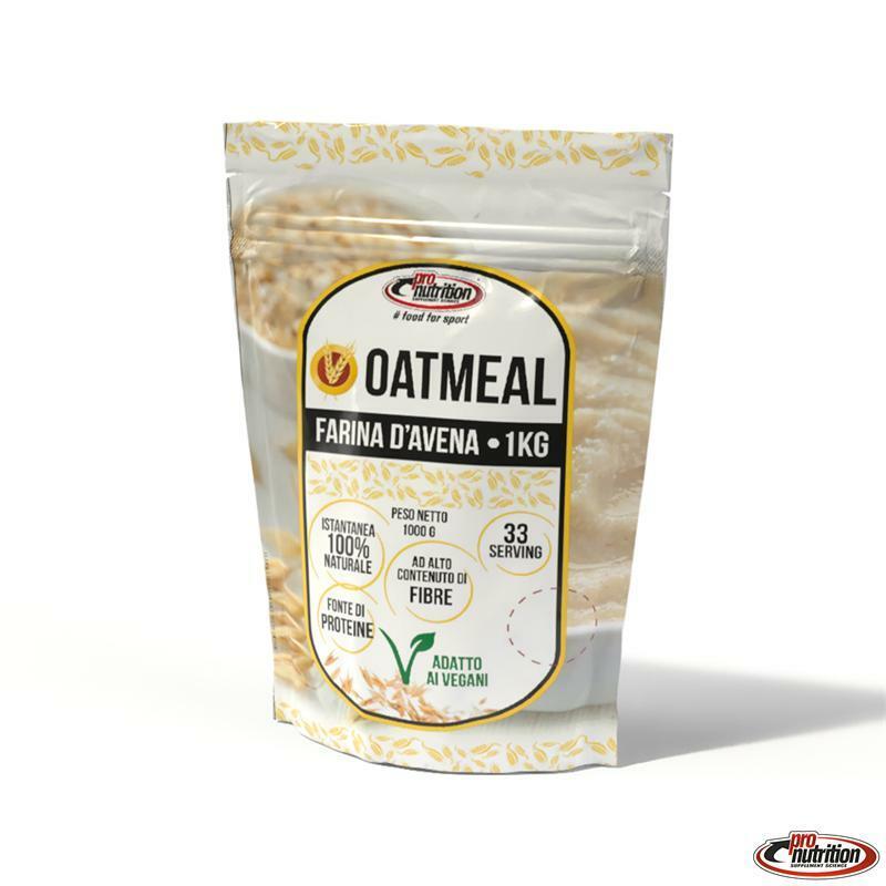 pronutrition pro nutrition - farina d'avena proteica ricca di fibra e beta glucani - 1 kg