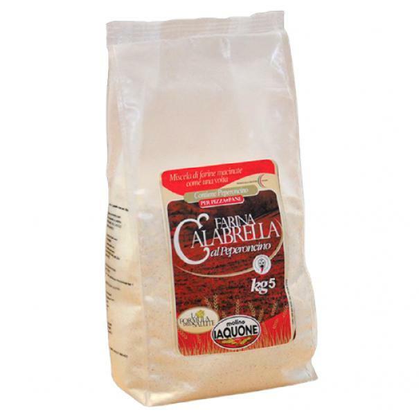 molino iaquone molino iaquone - la calabrella  farina al peperoncino - 1 kg