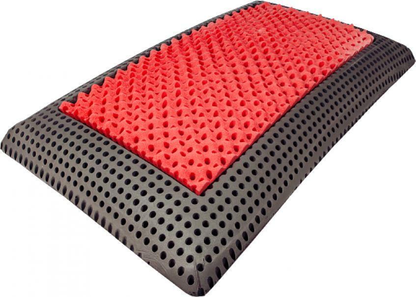 powermed powermed - il cuscino dello sportivo - carbon & memory ginseng