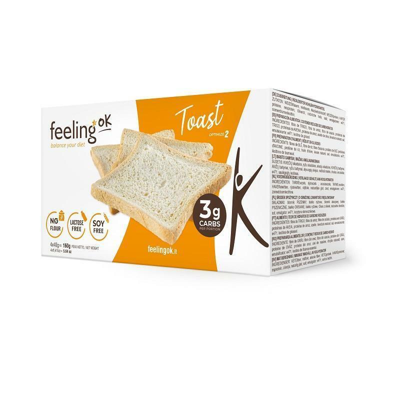 feeling ok feeling ok - toast - 4x 40 gr = 160 gr