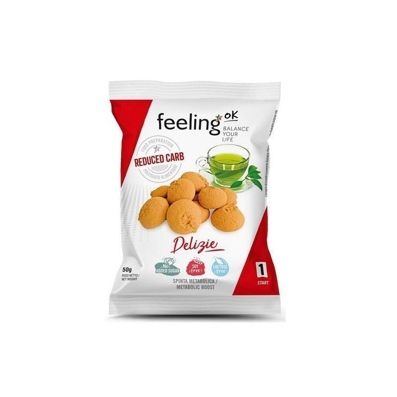 feeling ok feeling ok - delizie gusto albicocca - 50 gr