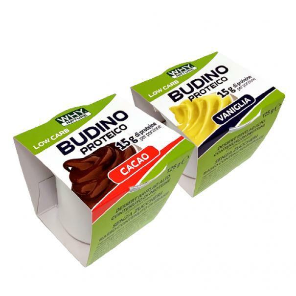 why nature budino proteico gusto vaniglia 15 g di proteine - 125 g