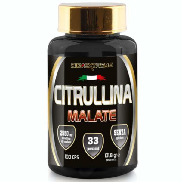 bio extreme citrullina malate senza glutine - 100 cps