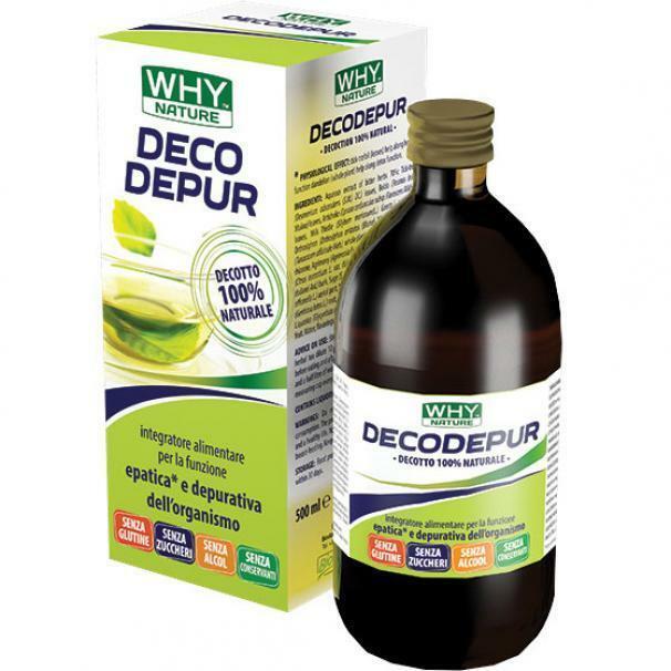 biovita group why nature - deco depur 100% naturale - 500 ml