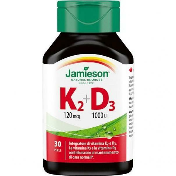 biovita group jamieson - vitamina k2+d3 - 30 softgels