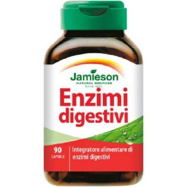 biovita group jamieson - enzimi digestivi - 90 cpr