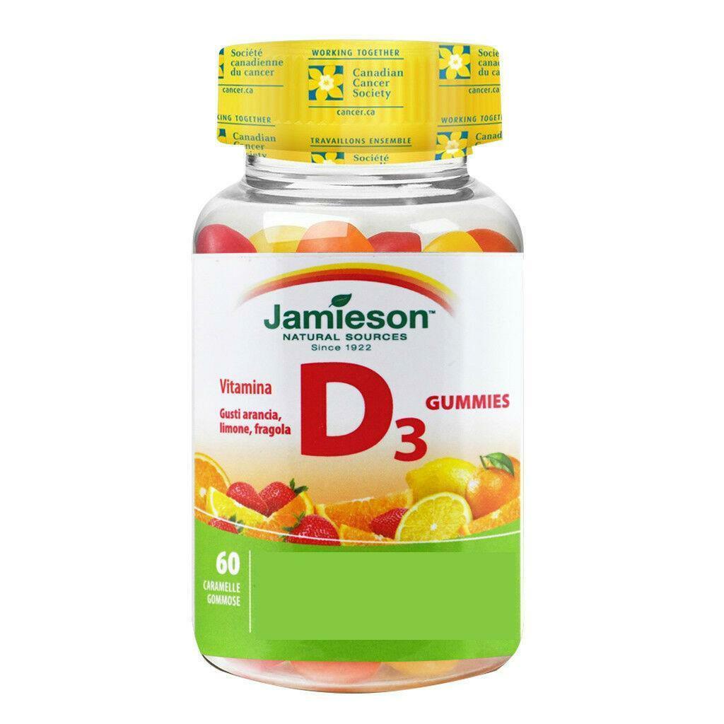 biovita group jamieson - vitamina d gummies - 60 caramelle gommose