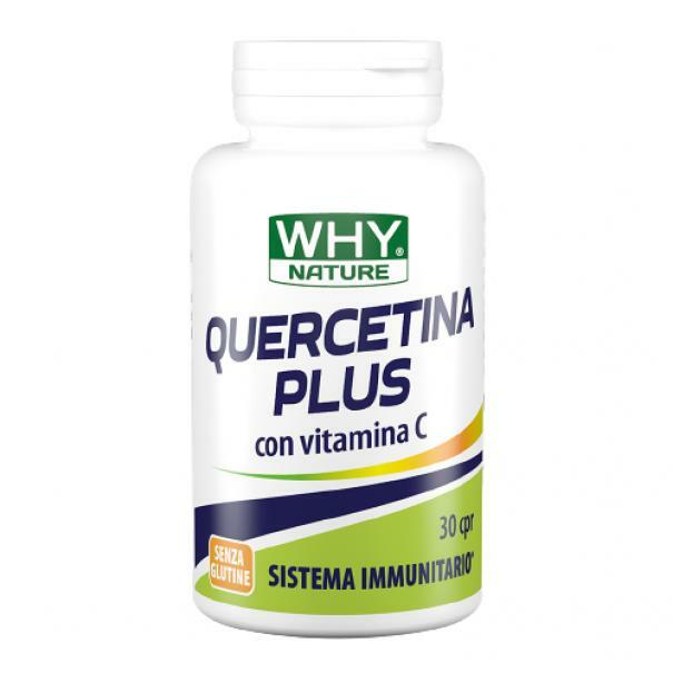 biovita group why nature - quercitina plus con vitamina c - 30 cpr