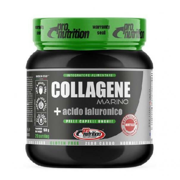 pro nutrition pro nutrition - collagene marino + acido ialuronico - 160 g