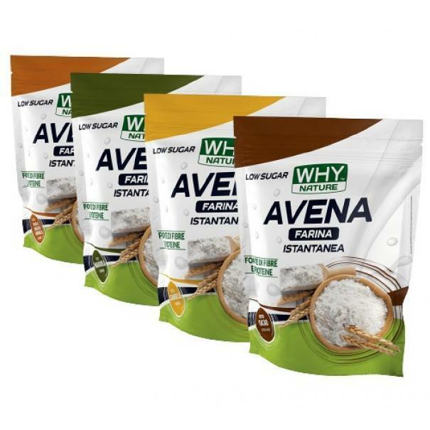 biovita group why nature - farina d'avena istantanea senza glutine al naturale - 1kg