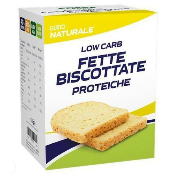 biovita group why nature - fette biscottate proteiche low carb - 120g
