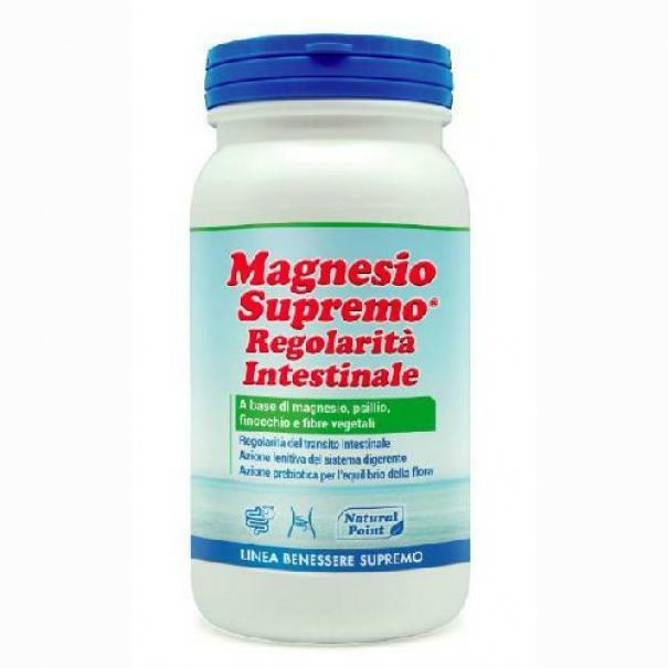 natural point natural point - magnesio supremo regolarita' intestinale- 150g