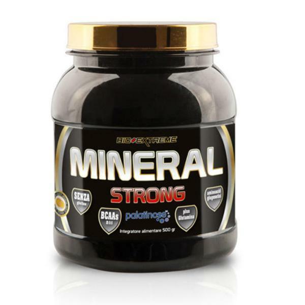 bio extreme mineral strong - senza glutine - gusto arancia da 500g