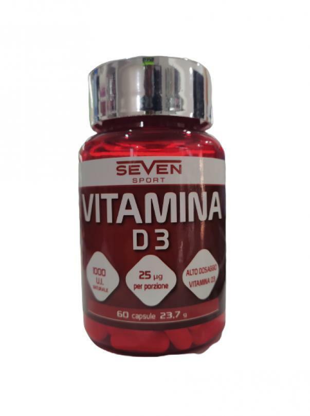 bio extreme seven sport - vitamina d3 da 1000 u.i. naturale - 60 cpr