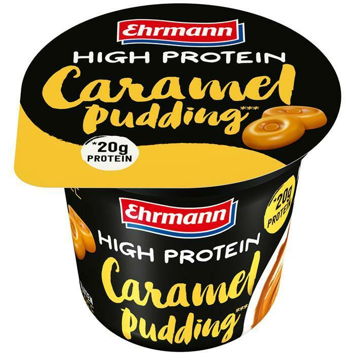 ehrmann high protein pudding gusto caramel con 20g di proteine - 200g