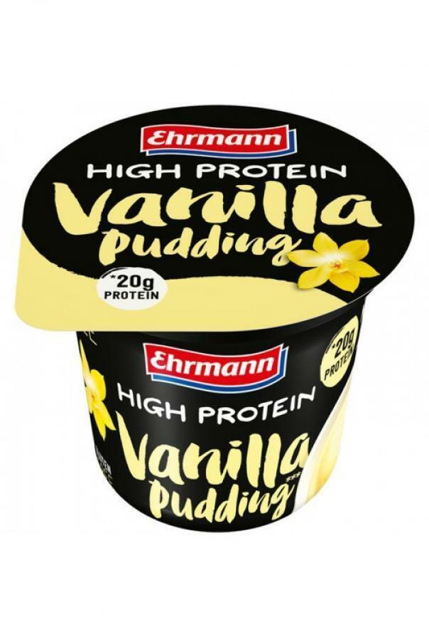 ehrmann high protein pudding gusto vaniglia con 20g di proteine - 200g