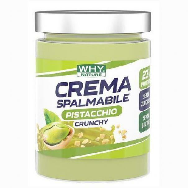 biovita group why sport - perfect cream - crema spalmabile proteica gusto pistacchio crunchy - 300g